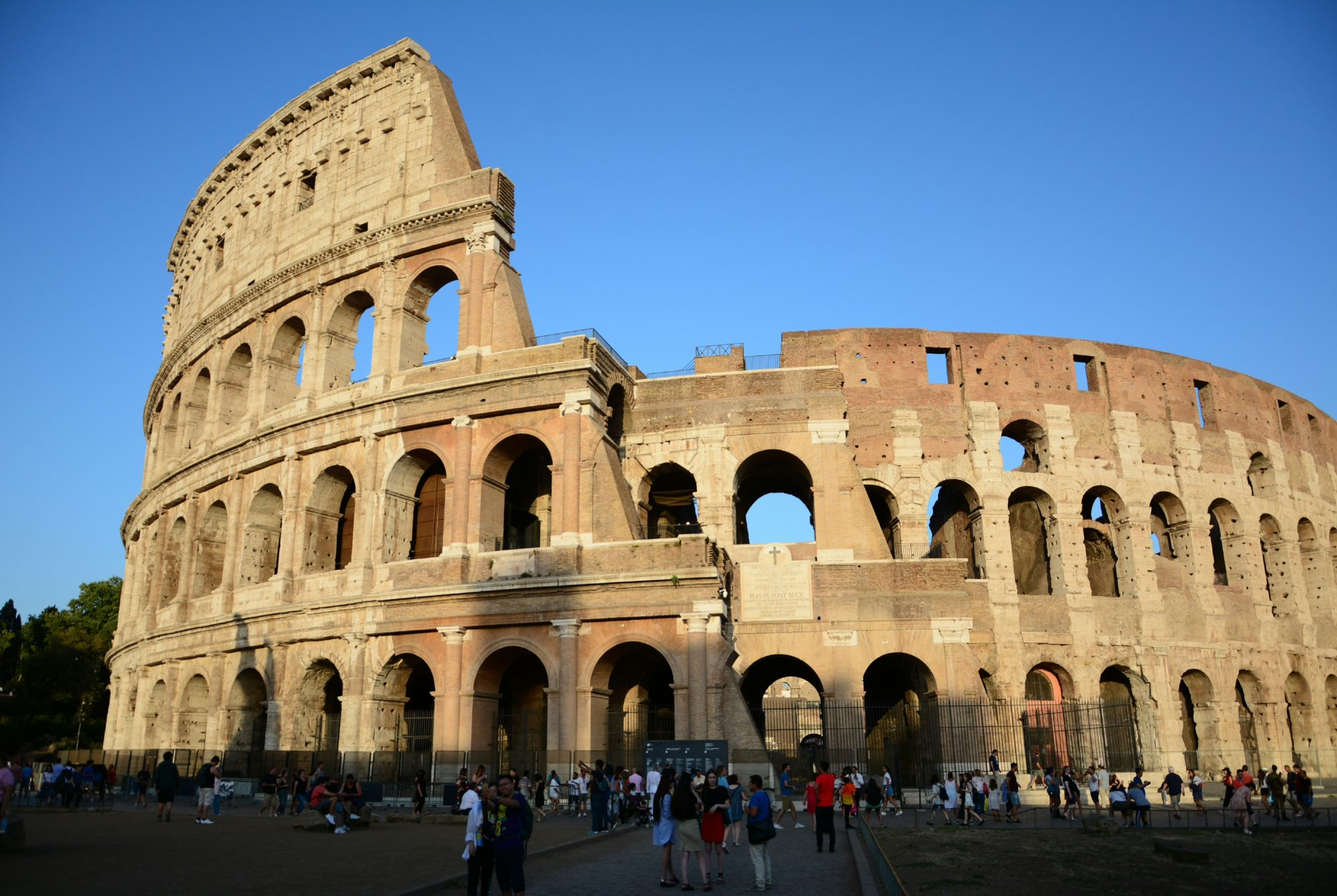 Colosseum in Rome, ancient